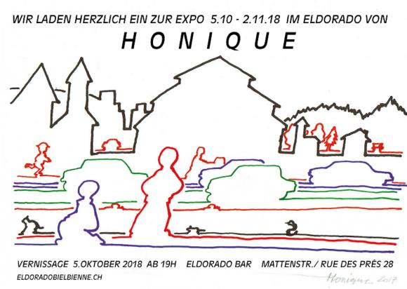 Ausstellung Honique