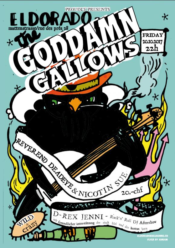 goddamn gallows deadeye n