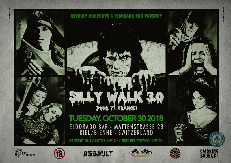 2018 09 30 SILLY WALK